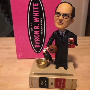 Justice Byron R. White Bobblehead